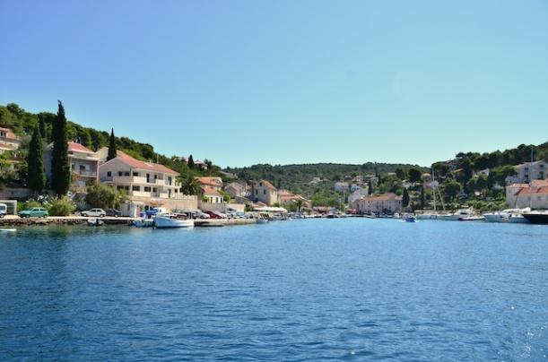 Hafen Maslinica